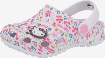 HELLO KITTY Hello Kitty Clogs in weiß, Produktansicht