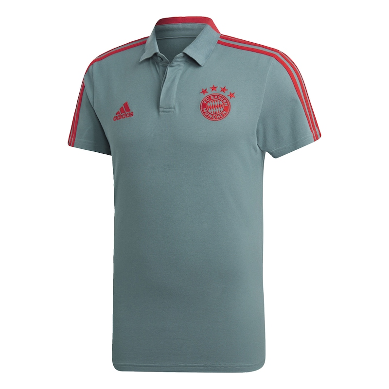 9914d4a2f1 ADIDAS PERFORMANCE Funktionsshirt 'FC Bayern München' in jade / feuerrot |  ABOUT YOU