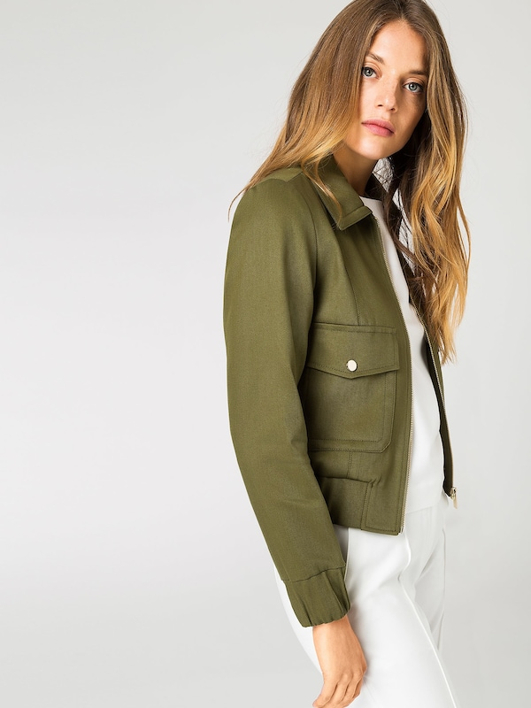 IVY & OAK Cropped Jacket