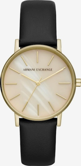 ARMANI EXCHANGE Quarzuhr »AX5561« in gold / schwarz, Produktansicht