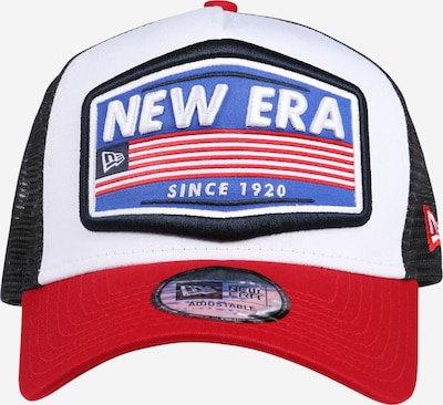 NEW ERA Cap 'USA Patch Trucker' in blau / rot / schwarz / weiß, Produktansicht