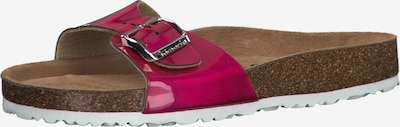 TAMARIS Slipper in dunkelpink, Produktansicht