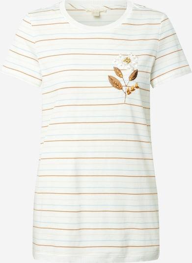 ESPRIT Tričko 'Embro' - modrá / hnedá / sivá / biela, Produkt