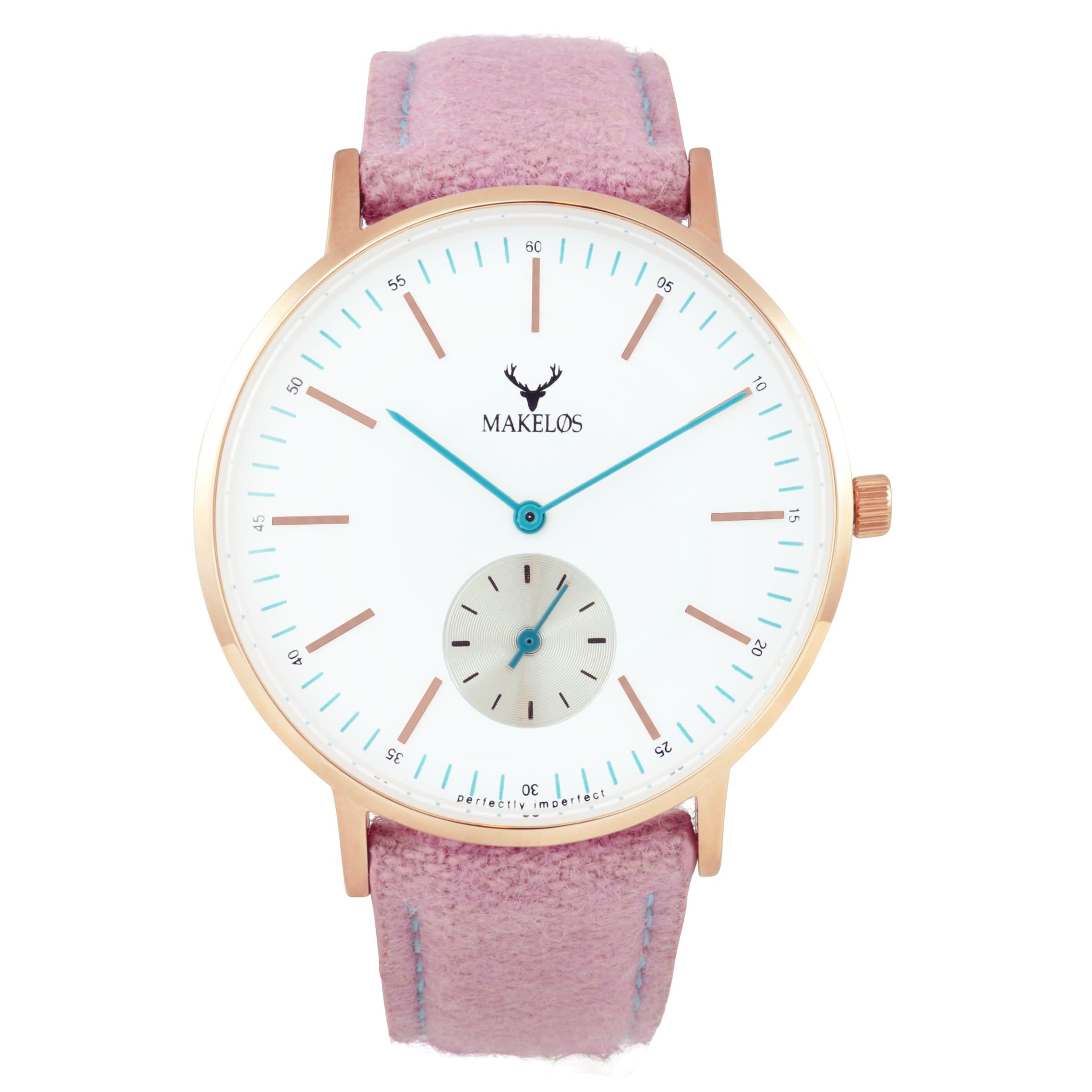 MAKELØS Armbanduhr 'RØD LYSE' in femininem Design Rabatt Erschwinglich Suche Nach Günstiger Online 2018 Günstiger Preis Verkauf Große Überraschung 9A3z3c2D4X