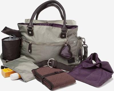 petit amour Přebalovací taška 'LAILA' - tmavě hnědá / šedá, Produkt