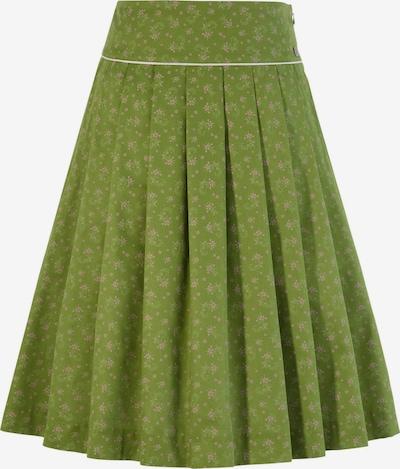 SPIETH & WENSKY Trachtenrock in grün, Produktansicht