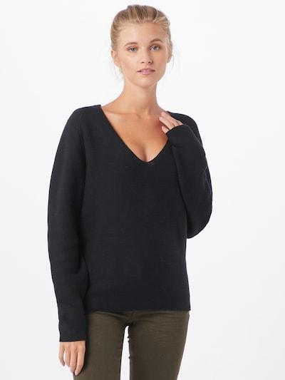 minimum Pullover in schwarz, Modelansicht