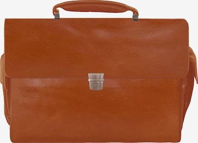 Braun Büffel Aktentas 'Texas' in de kleur Cognac, Productweergave