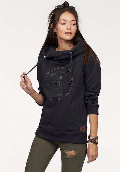 OCEAN SPORTSWEAR Athletic Sweatshirt in Black: Frontal view