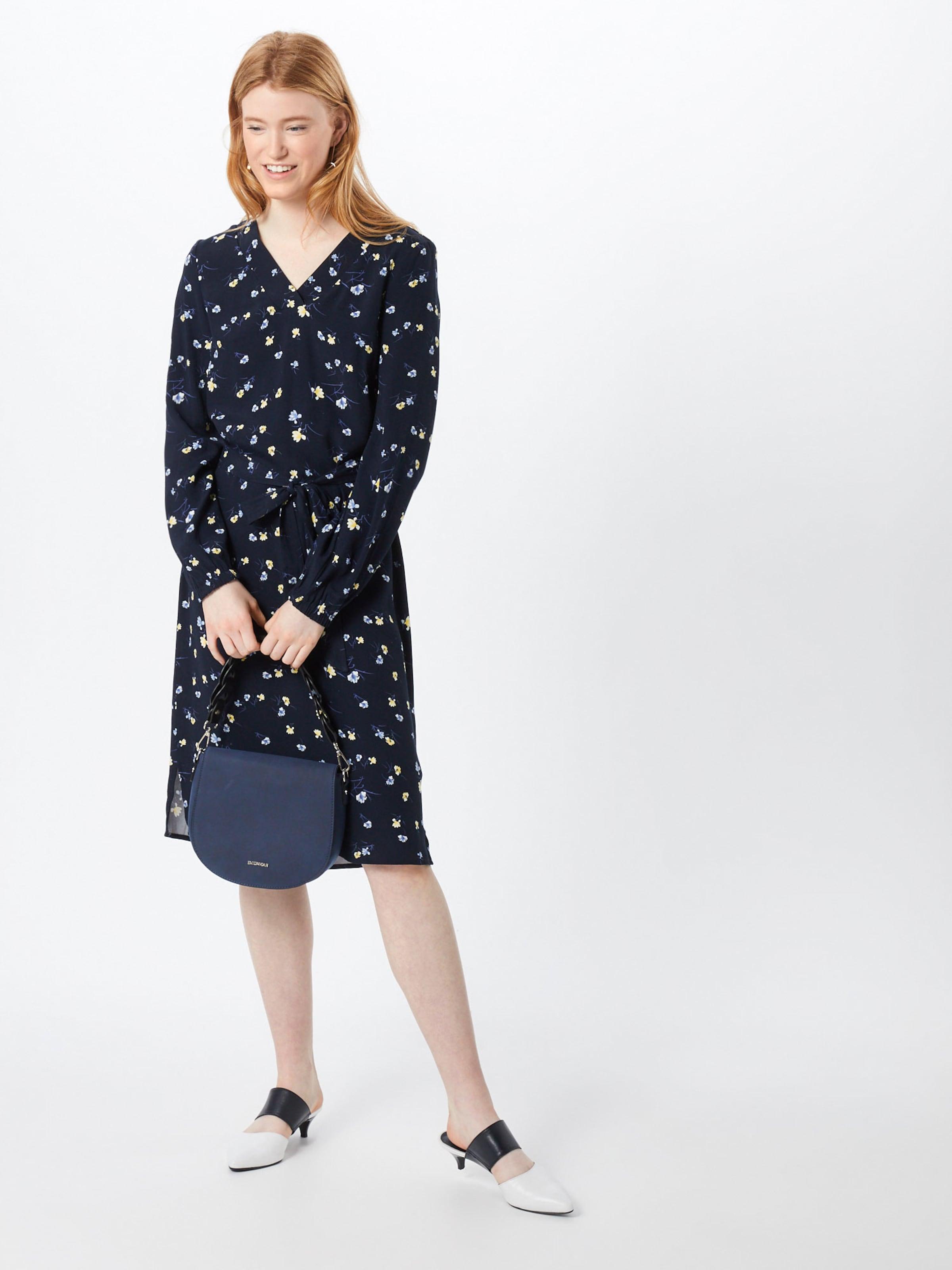 Casual Dress' MarineMélange Tailor Couleurs Flower En De Bleu 'my Tom Robe FcJlTK1