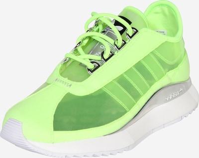 ADIDAS ORIGINALS Sneaker in neongelb / neongrün, Produktansicht