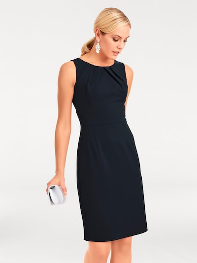 heine Etuikleid in nachtblau, Modelansicht