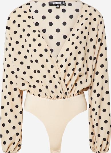 Missguided Bodysuit in creme, Produktansicht