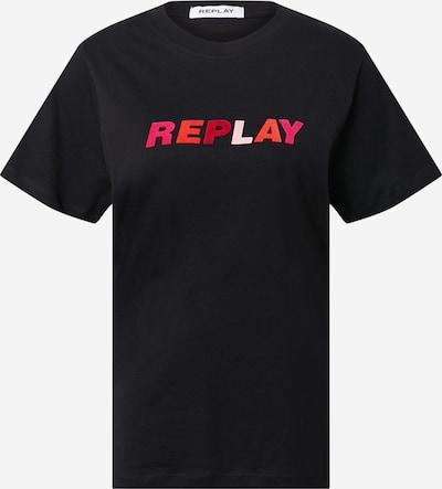 REPLAY Shirt in de kleur Zwart, Productweergave