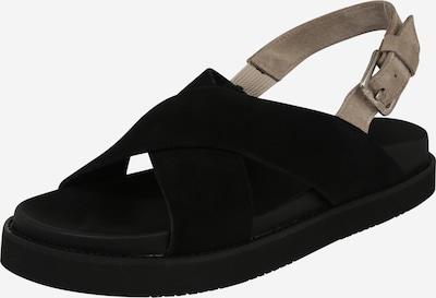 Garment Project Sandale 'Yodo' in beige / schwarz, Produktansicht