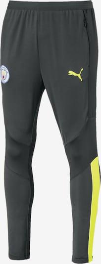 PUMA Trainingshose 'Manchester City Pro' in neongelb / basaltgrau, Produktansicht