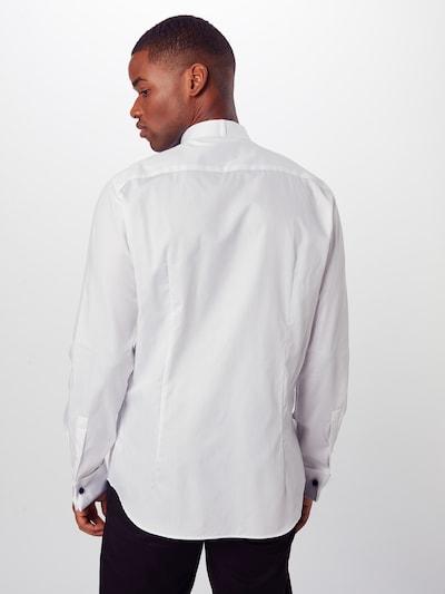 Dalykinio stiliaus marškiniai 'Pauly' iš JOOP! , spalva - balta: Vaizdas iš galinės pusės