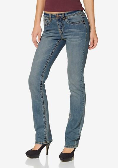ARIZONA Gerade Jeans in himmelblau, Modelansicht
