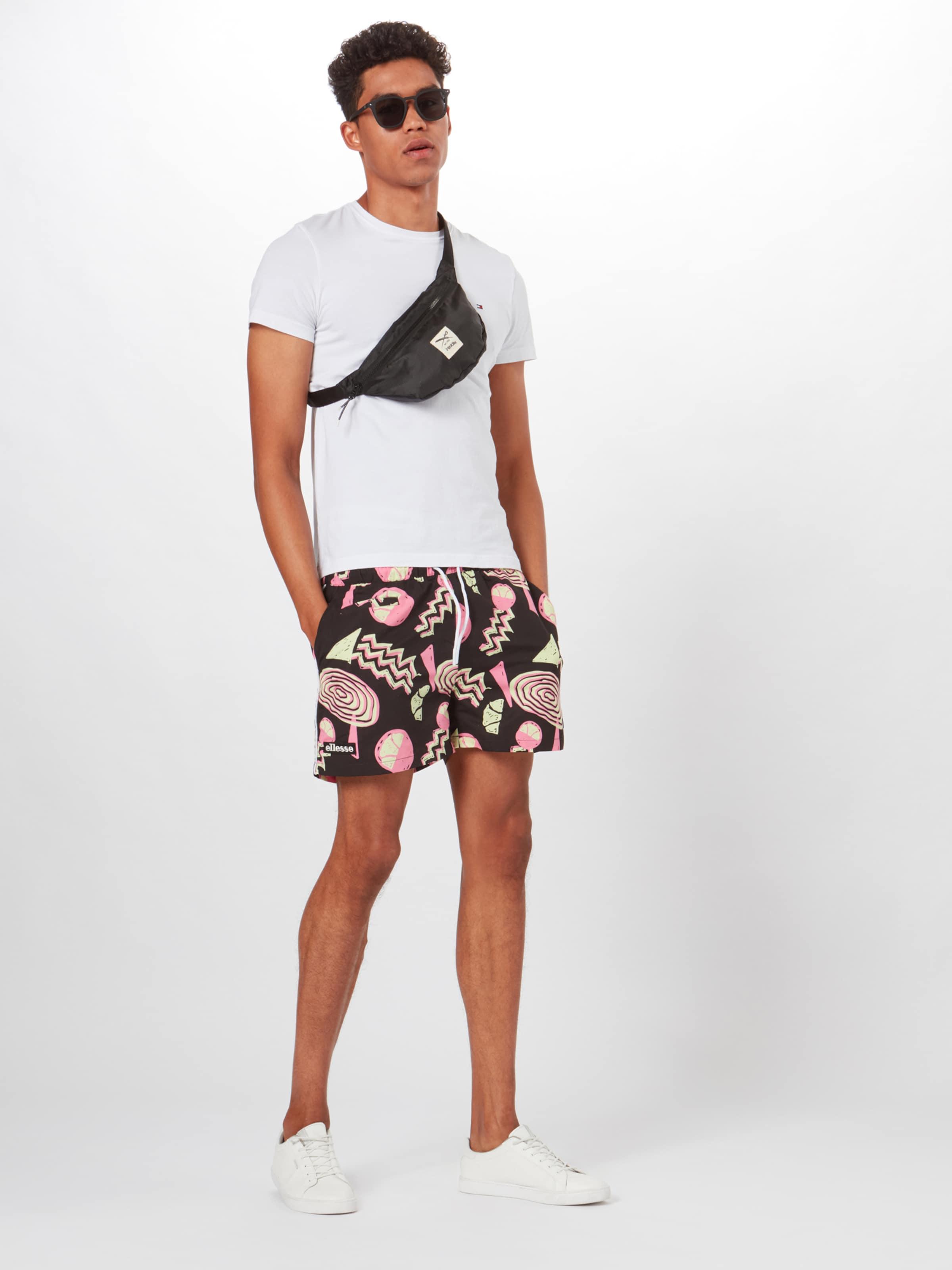 'dem Slackers PinkRosa Shorts Shorts' Schwarz In Ellesse oWdBrxeC
