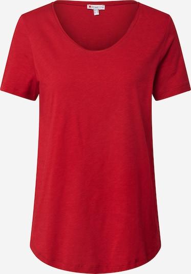 STREET ONE T-Shirt 'Gerda' in weinrot, Produktansicht