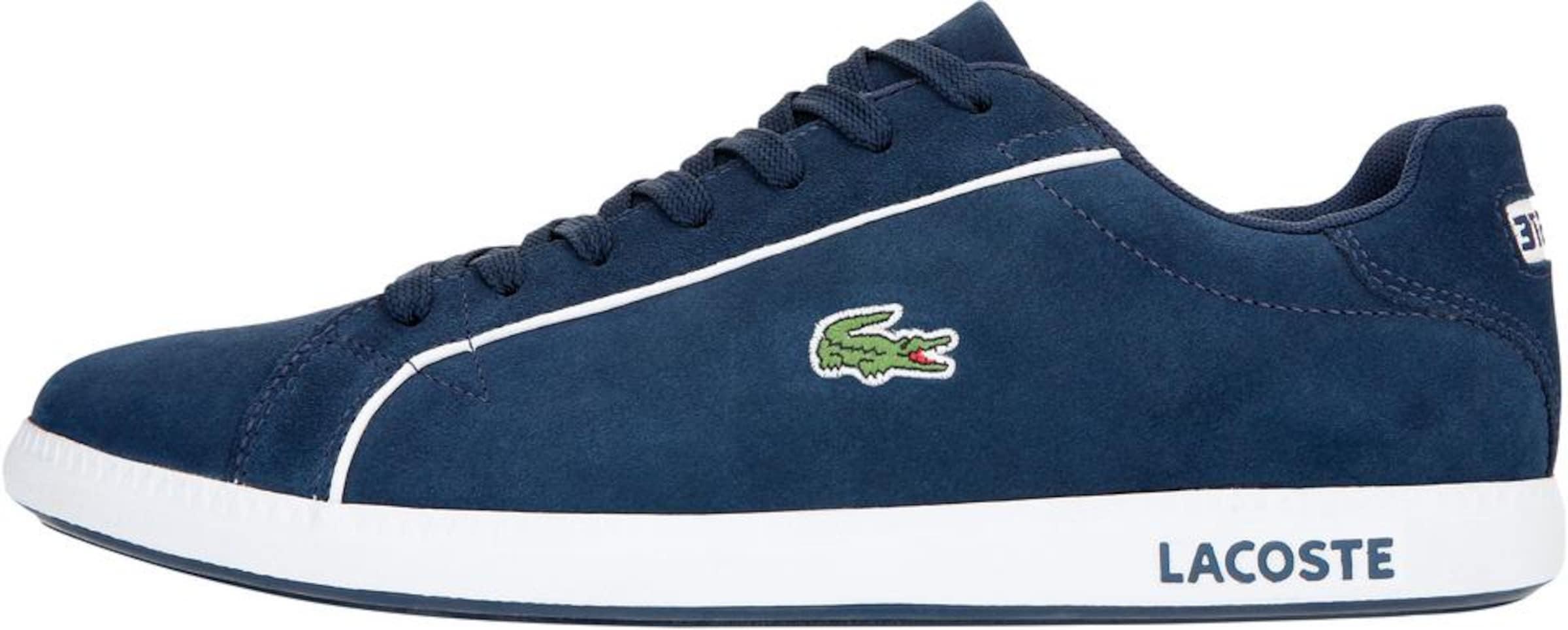 Lacoste In 'graduate' NavyHellgrün Weiß Sneaker bf6gy7
