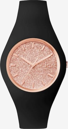 ICE WATCH Armbanduhr 'ICE glitter, ICE.GT.BRG.U.S.15' in rosé / schwarz, Produktansicht