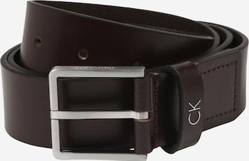 Calvin Klein Belt 'FORMAL 3.5' in Brown