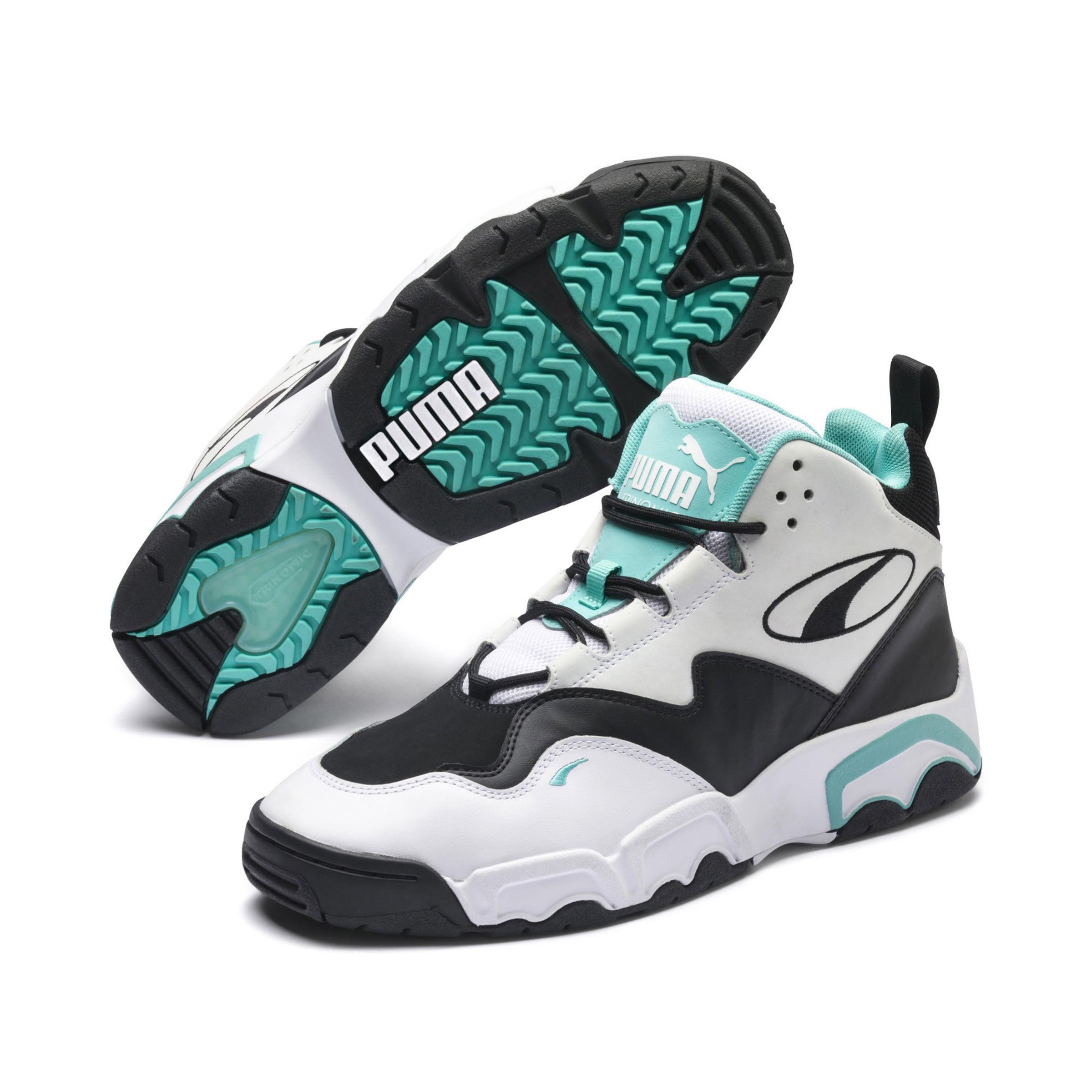 Puma Sneaker In 'source JadeSchwarz Weiß Mid' CexdBro