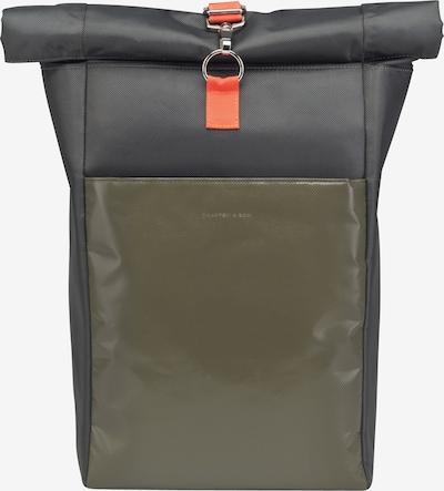 Kapten & Son Sac à dos 'Lund' en olive, Vue avec produit
