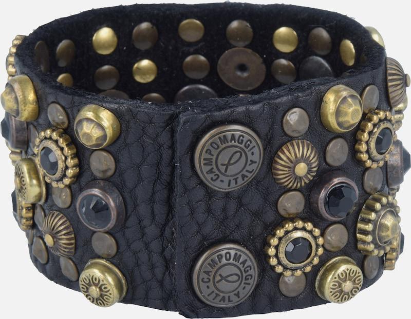 ed32388827ba1f Campomaggi Armband in Zwart