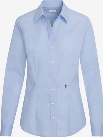 SEIDENSTICKER Bluse in Blau
