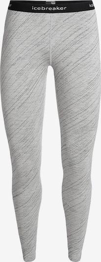 ICEBREAKER Leggings '250 Vertex Leggings Snow Sto' in grau / schwarz, Produktansicht