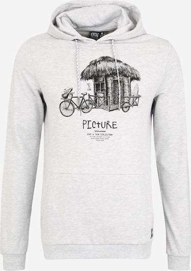 Picture Organic Clothing Bluzka sportowa 'WINTON' w kolorze jasnoszary / czarnym, Podgląd produktu