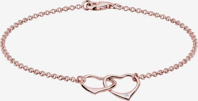 Diamore Armband in de kleur Rose-goud, Productweergave