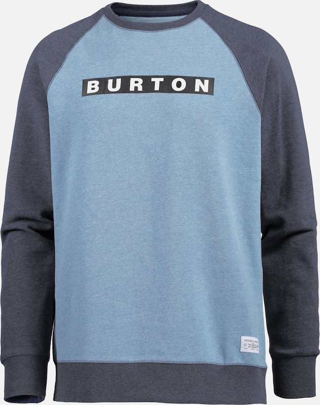 BURTON 'VAULT' Sweatshirt in hellblau hellblau hellblau  Große Preissenkung 28f581