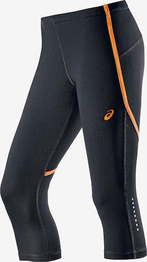 ASICS Tights in orange / schwarz, Produktansicht