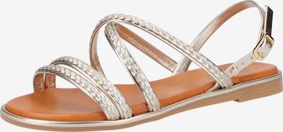 SCAPA Sandalen in silber, Produktansicht