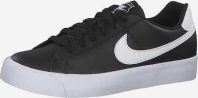 Nike Sportswear Schnürschuh in schwarz / weiß, Produktansicht