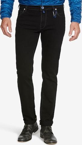Meyer Hosen Jeans 'M5 SLIM' in Schwarz