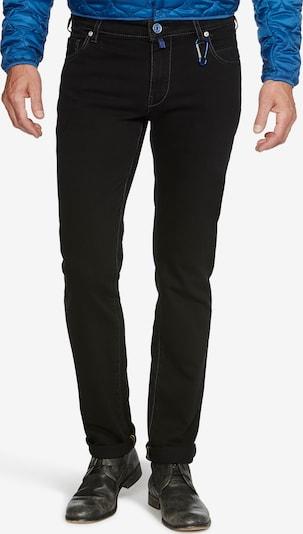 Meyer Hosen Jeans 'M5 SLIM' in schwarz / black denim, Produktansicht