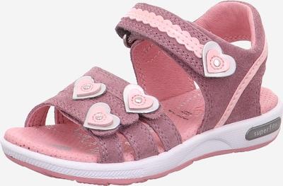 SUPERFIT Sandale 'Emily' in lila / rosa / silber, Produktansicht