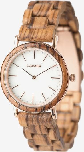 LAiMER Uhr 'Leona' in ocker, Produktansicht