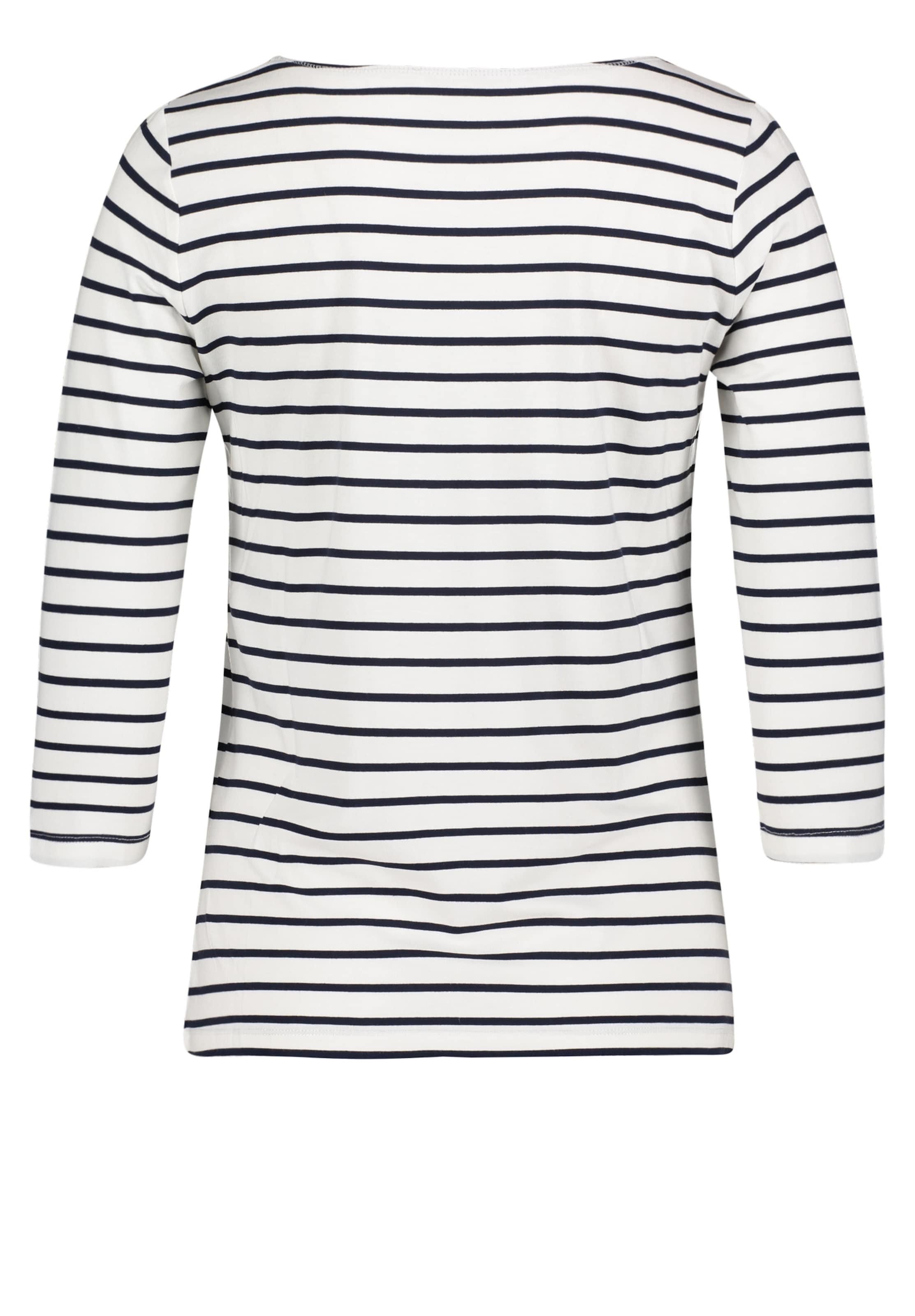 DunkelblauWeiß Betty Shirt Basic Barclay In m0vnw8N