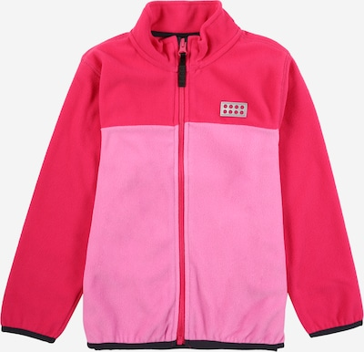 LEGO WEAR Fleecejacke 'SINCLAIR' in altrosa / dunkelpink, Produktansicht