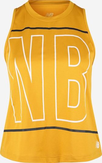 new balance Haut de sport en jaune / blanc, Vue avec produit
