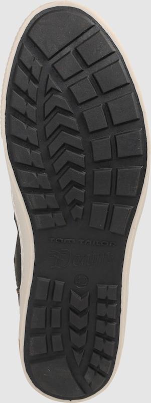 TOM TAILOR | Sneaker High mit Webpelzfutter