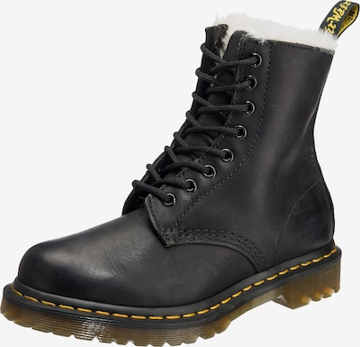 Dr. Martens Lace-Up Ankle Boots 'Serena' in Yellow / Black / White, Item view