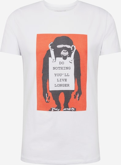 Mister Tee Tričko - oranžová / černá / bílá, Produkt