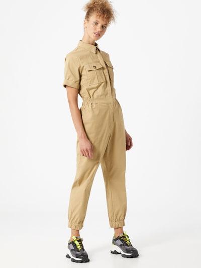 GLAMOROUS Jumpsuit in beige, Modelansicht