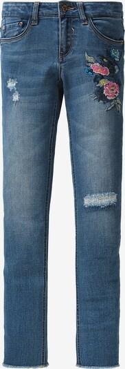 GARCIA Jeans mit Stickerei in blau, Produktansicht